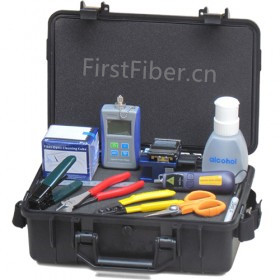 Kit de terminaison d'assemblage FirstFiber FTTH, kit décapant à Fiber optique fibra optica