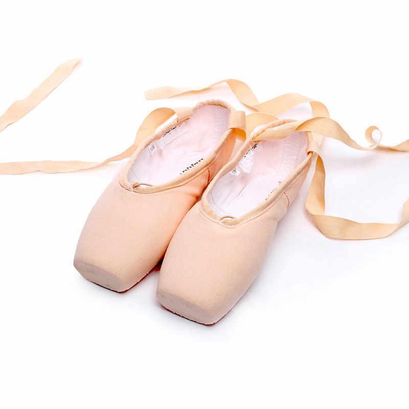 7840bb7d0d03 USHINE TJ18 EU31-43 Professional Балетные пуанты обувь для девочек для  женщин женские атласные ...