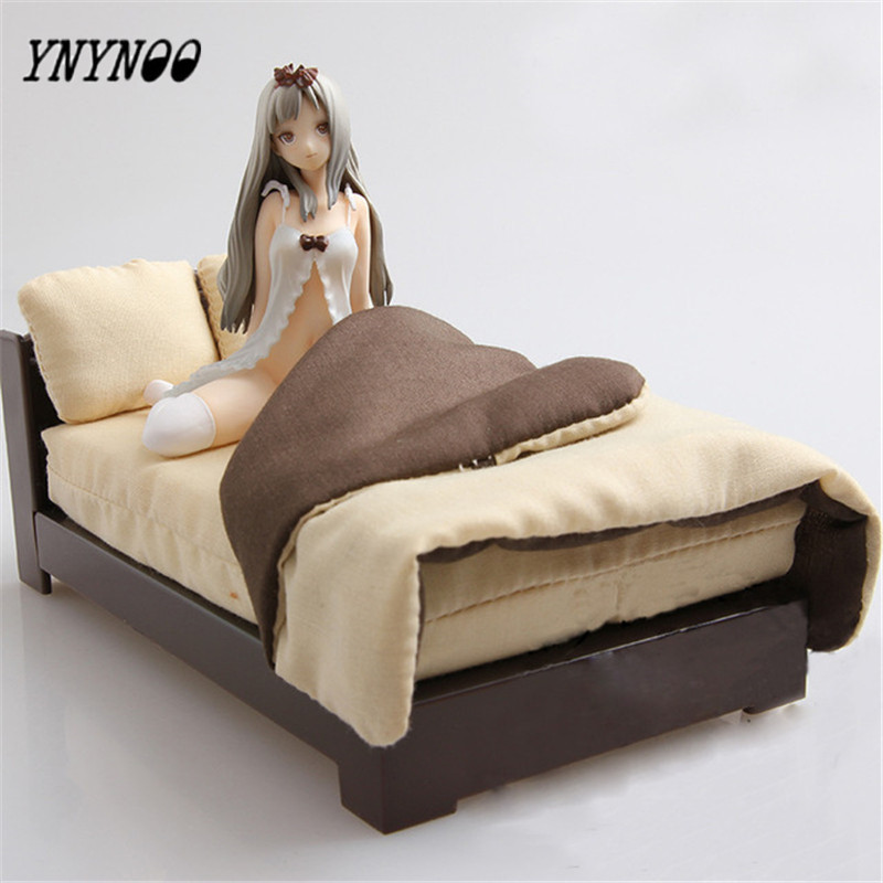 YNYNOO Sexy GIRL anime Native TONY illustration by Tony Alice with bed PVC Action Figures dolls collection modle Kids Toy 12cm