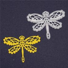 Dragonfly Metal Cutting Dies new  Scrapbooking Stencils DIY Embossing Paper Crad Decorative Animal Die Cutter