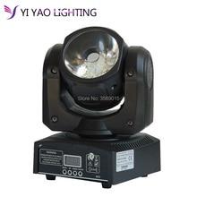 60 Вт RGBW 4in1 светодиодный луч света DMX512 светодиодный Дисплей движущихся головного света Профессиональный DJ/бар/вечерние/ шоу/свет этапа светодиодный этап машина