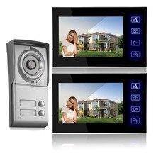 7″ TFT Color Video Door Phone Intercom Doorbell System Kit IR Camera Doorphone Monitor Speakerphone Intercom Night Viewera