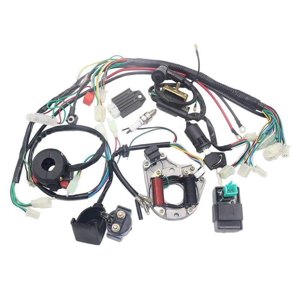 Faisceau électrique de câblage CDI de bobine de Stator pour 4 temps ATV KLX 50cc 70cc 110cc 125cc Quad Bike Buggy aller Kart Pit Dirt