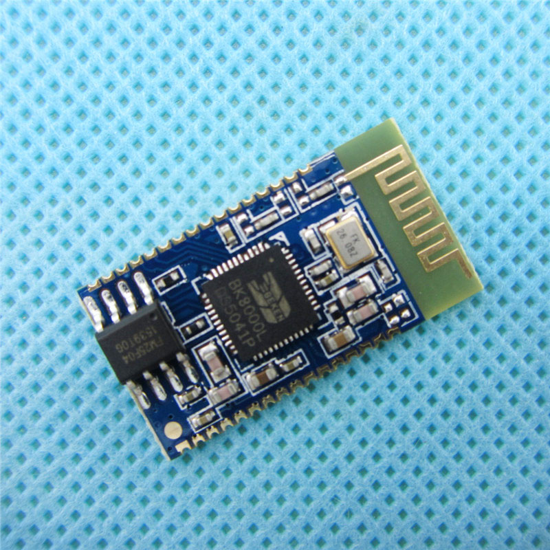 Bluetooth Stereo Audio Module Transmission <font><b>BK8000L</b></font> AT Commands SPP Bluetooth Speaker Amplifier DIY image