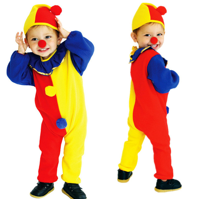 S~M New Naughty Clowns Children Cosplay Hallowean Romper Jumpsuit Funny Joker Cute Costume Baby  sc 1 st  AliExpress.com & S~M New Naughty Clowns Children Cosplay Hallowean Romper Jumpsuit ...