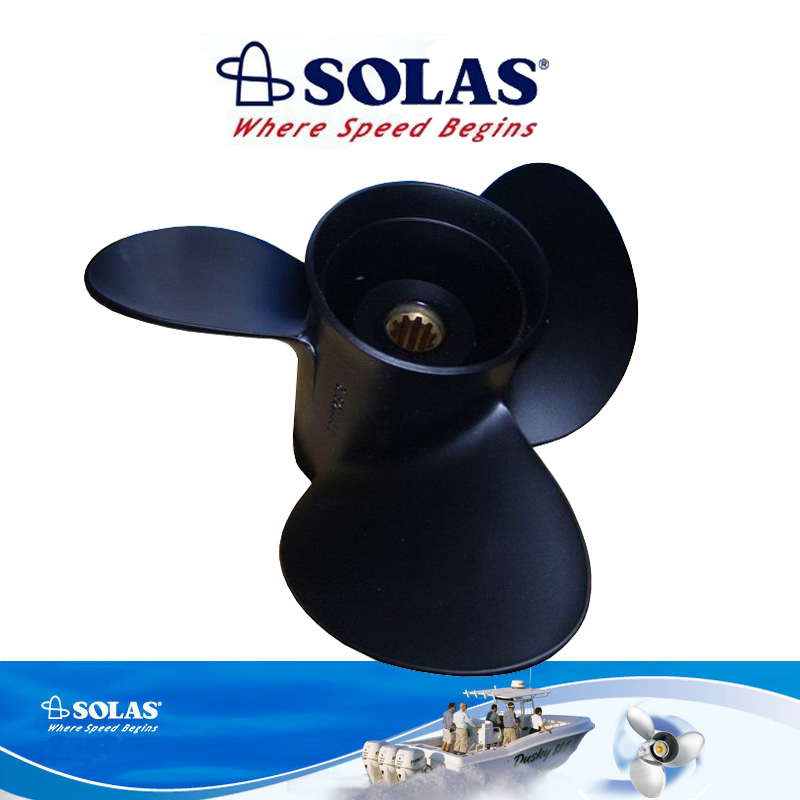 11 5/8x11-R Outboard Motors Aluminum Propeller For Suzuki 40HP 50HP 55HP 11 5/8 x 11 -R 5 11