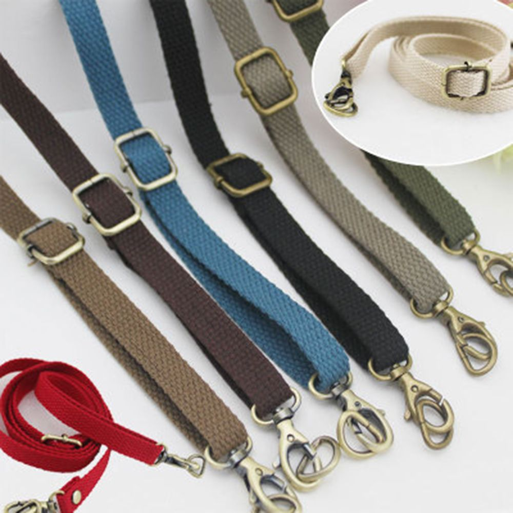 Adjustable Length Canvas Travel Shoulder Strap Bag Handle Crossbody Handbag Replacement Strap DIY Bag Accessories Obag