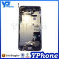 Back Replacement For iPhone 6 plus Housing Assembly With Button Flex Cable Silver Gold Grey Free Print Your own IMEI