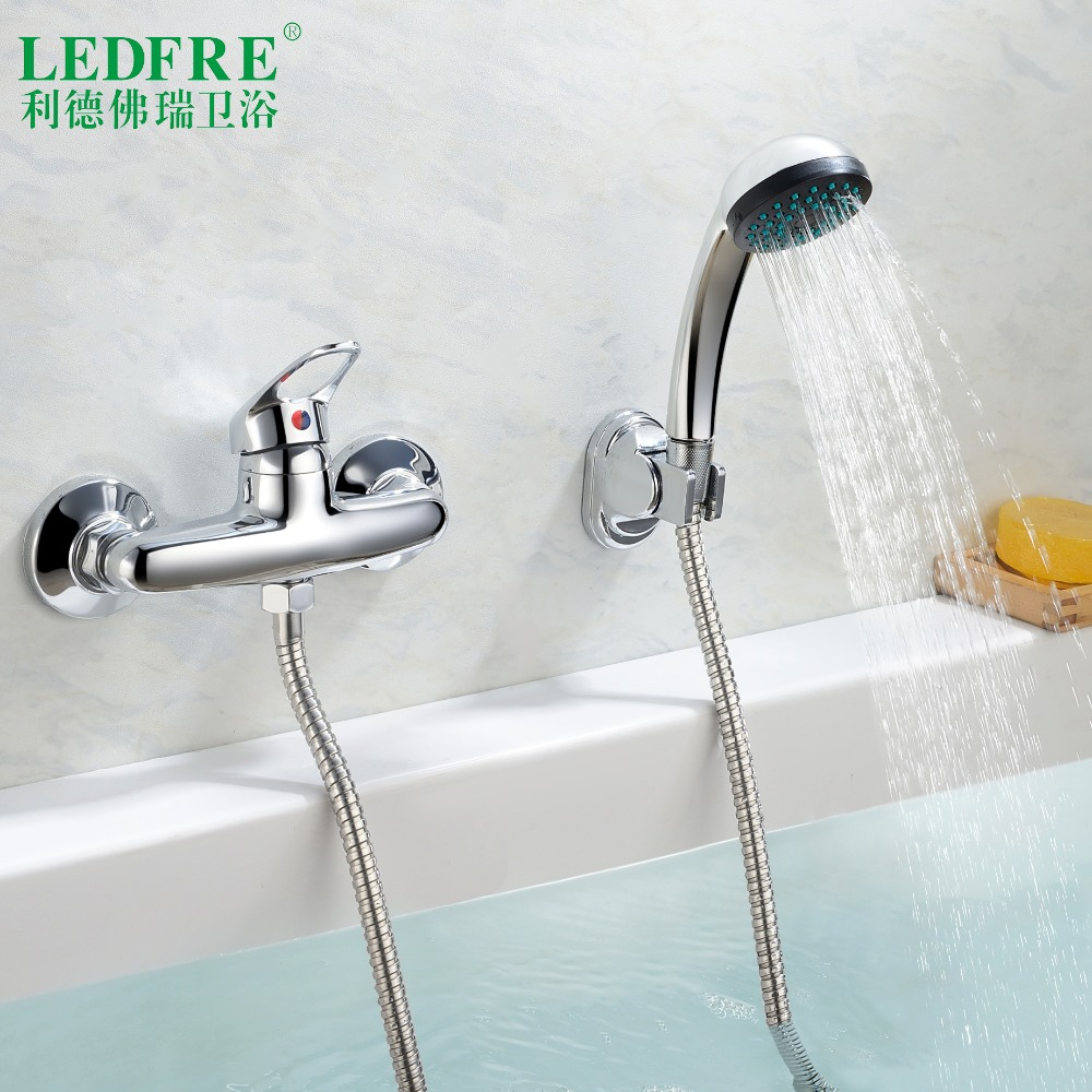 LF56C130 single level Bath mixer water tap bathroom single handle cold and hot water hot cold tap bathroom mixer Bathtub FaucetsLF56C130 single level Bath mixer water tap bathroom single handle cold and hot water hot cold tap bathroom mixer Bathtub Faucets