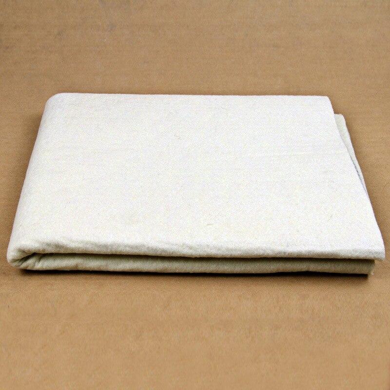 painting calligraphy wool blanket felt pad Wool felt calligraphy supplies Xuan paper painting mat 2x1m цена 2017