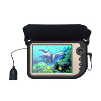 50m 40kg Tenacity Of Cable 5 Color LCD Monitor Underwater Ice Video Fishing Camera System Rechargeable