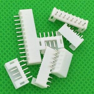 50 unids/lote pin Header 2,0mm material macho PH2.0 2mm conectores lleva PH-A pines rectos