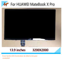 For Huawei MateBook X Pro MACH-W19 MACH-W19C W19B 13.9-inch touch screen LCD monitor LPM139M422 A 3K display 3000X200resolution
