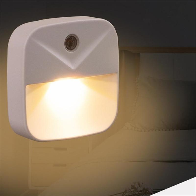 HiMISS Mini Intelligent Light Control Energy Saving Induction Lamp Led Night Light For Children Bedroom