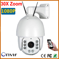 Stardot PTZ IP Camera CCTV 30X Zoom Camera High Speed Dome Network 1080P PTZ IP Camera