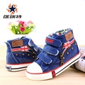 CORITESE 2016 Spring Children High Canvas Shoes,Jean Kids Boys/Girls Shoes, Meninos Shoes Meninos Sneakers,Baby Shoes,Size 19-37