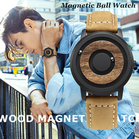 Magnetic Ball Wrist Watch Men Waterproof Mens Watches Top Brand Luxury Creative Dial Silicone Sport Casual Quartz Wrist Watch