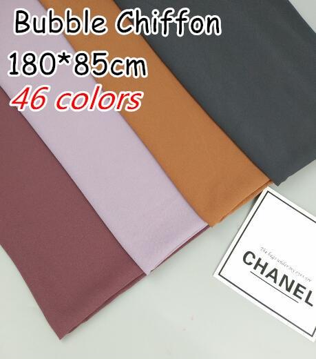 H29 Top quality 180*85cm Big size bubble chiffon hijab