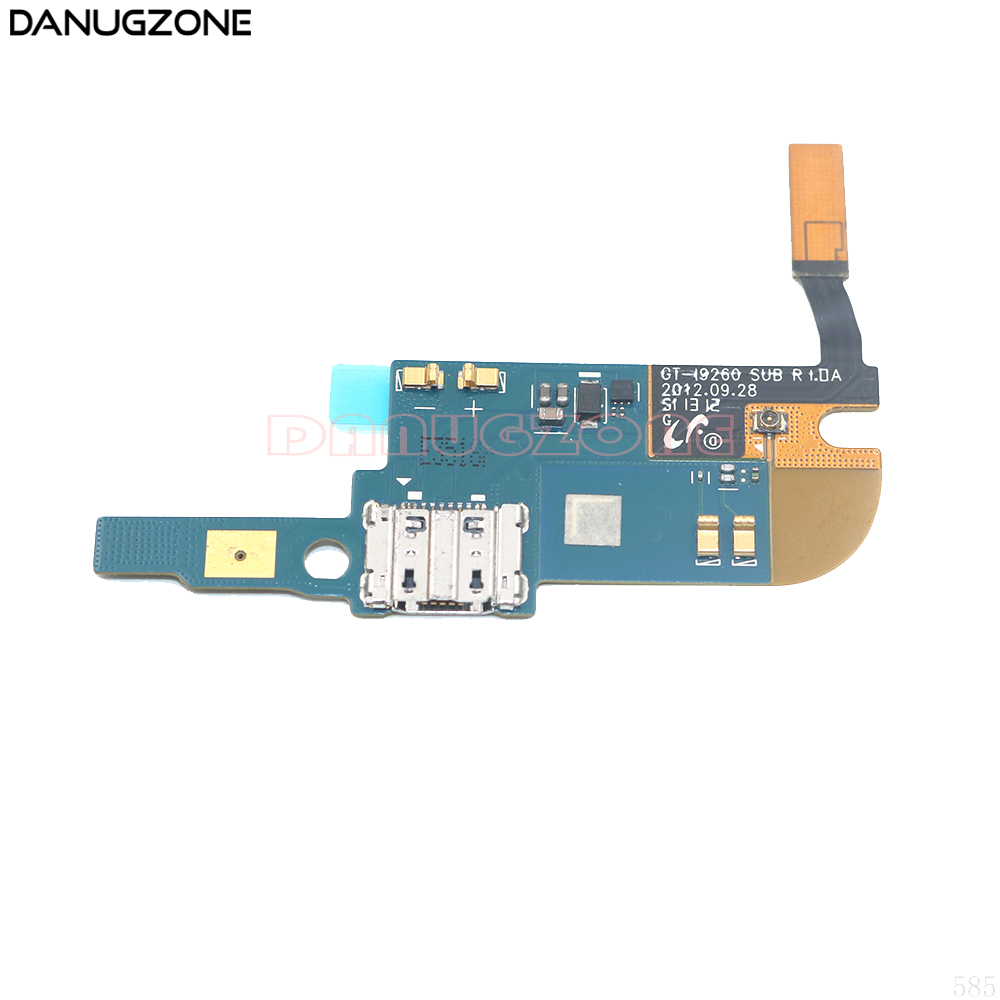 USB Charging Port Charge Dock Socket Jack Connector Flex Cable With Microphone For Samsung Galaxy Premier I9260 GT-I9260