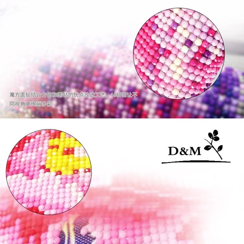 Diy diamant broderi pinne borra korsstygn 5d diamant målning - Konst, hantverk och sömnad - Foto 5