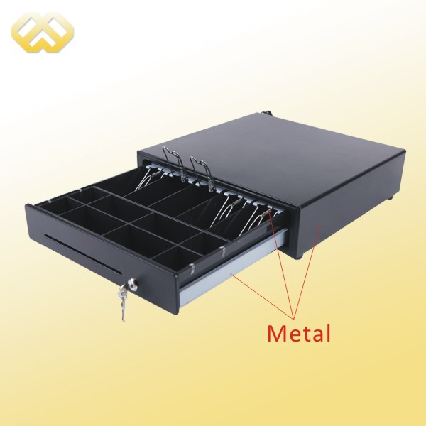 hc 101 4 4 bill metal wire gripper pos cash drawer. Black Bedroom Furniture Sets. Home Design Ideas