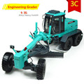 1:35 alloy model Grader, Graders high simulation project car toys, metal casting, educational toys, free shipping