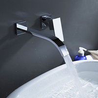 Free Shipping Polished Chrome Brass Bathroom Basin Faucet Single Handle Sink Mixer Tap Faucet