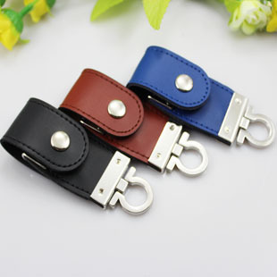 Real USB Flash Drive 512GB Leather Usb 2.0 Key Ring 64GB 32GB 16GB 8GB Pendrive Pendriver Usb Flash Memory Card Stick Key Gift