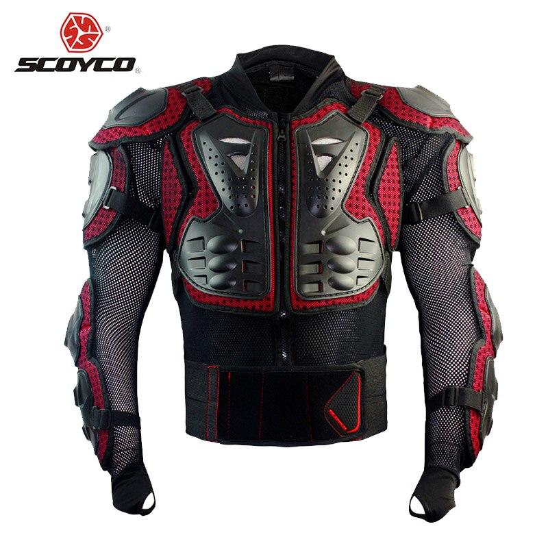 Scoyco armure de motocross moto tout-terrain équitation en plein air équipement de protection complet armure de cross country Body AM02 - 2