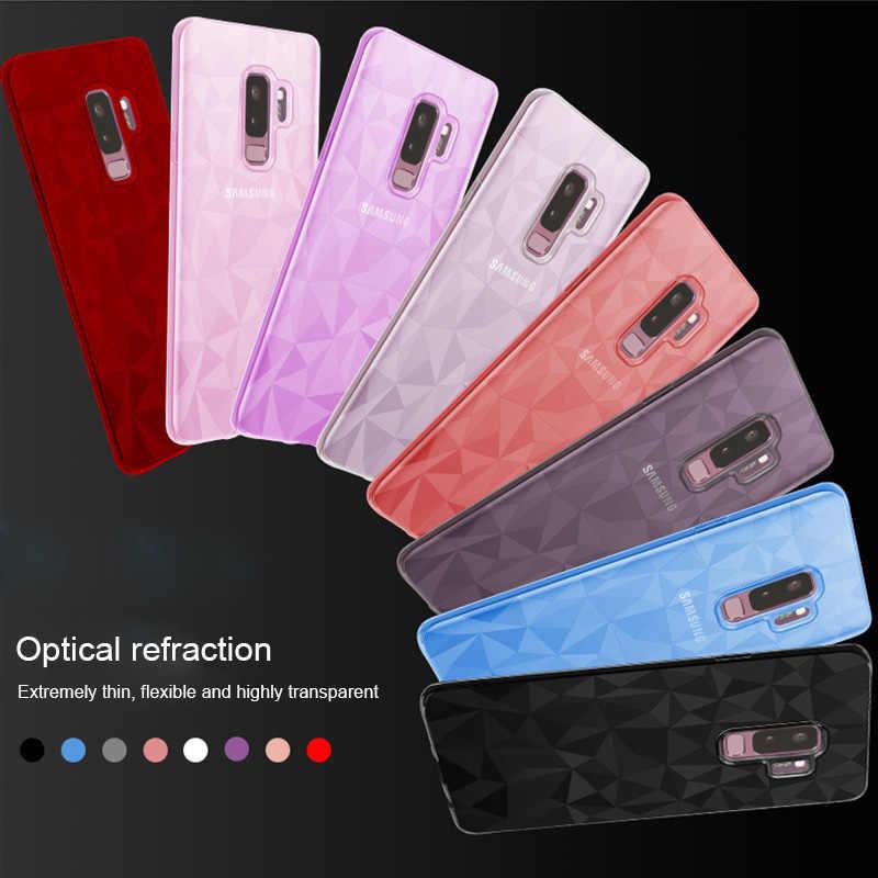 Для samsung Galaxy S9 S8 плюс S7 край J3 J5 J7 2017 J2 премьер J4 J6 J8 A6 A8 плюс 2018 Примечание 8 9 чехол для телефона 3D алмаз Мягкая обложка