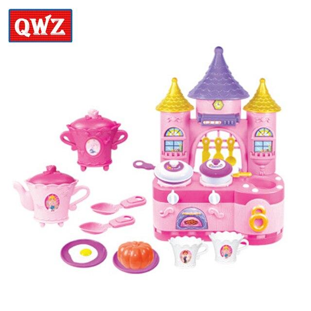 Us 1867 Dzieci Play House Symulacja Kuchnia Chłopiec Dziewczyna Naczynia Do Gotowania Kuchnia Zabawki Dzieci Zabawki Interaktywne Najlepszy Prezent