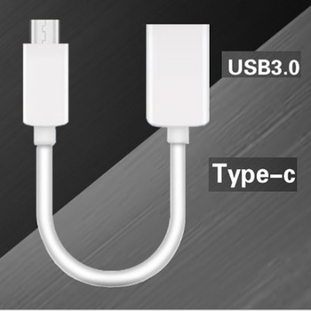100pcs USB 3.1 Type C Male to USB 3.0 Female Data Cable USB Type A Male To Female O-TG Data Connector Converter Cable