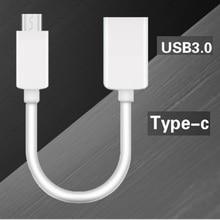 USB 3.1 סוג C זכר ל usb נקבה 3.0 כבל נתונים USB סוג זכר לנקבה O TG נתונים מחבר ממיר כבל
