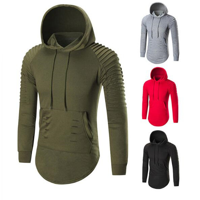 2019 New Autumn Winter Hooded Hoodies Soild Long Sleeve Sweatshirt Hoodie Men Casual Slim Moletom feminino inverno