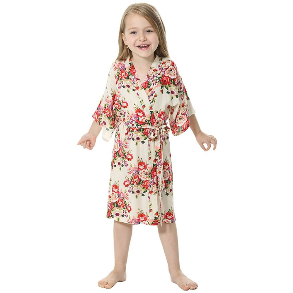 Girls Bathrobes. Keep your daughters dry, cozy and stylish after the morning shower or evening bath with stylish girls bathrobes. These bathrobes are designed with special materials to soak up excess moisture and provide warmth after stepping out of the shower or bath.