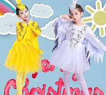 Children Dance Costumes Modern Animal Characters Halloween Birds Clothing Sparrows Magpie Performance clothing