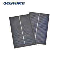 2Pcs Solar Panels Solar Battery Energy Plate Solar DIY Mobile Phone Charger Solar Power Charging 12V