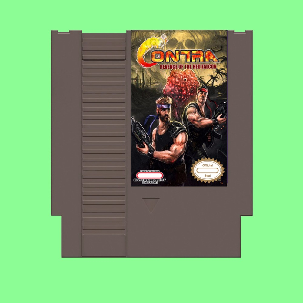 Best Sale Contra Revenge Of The Red Falcon Game Card For 72 Pin 8 Bit Game Player