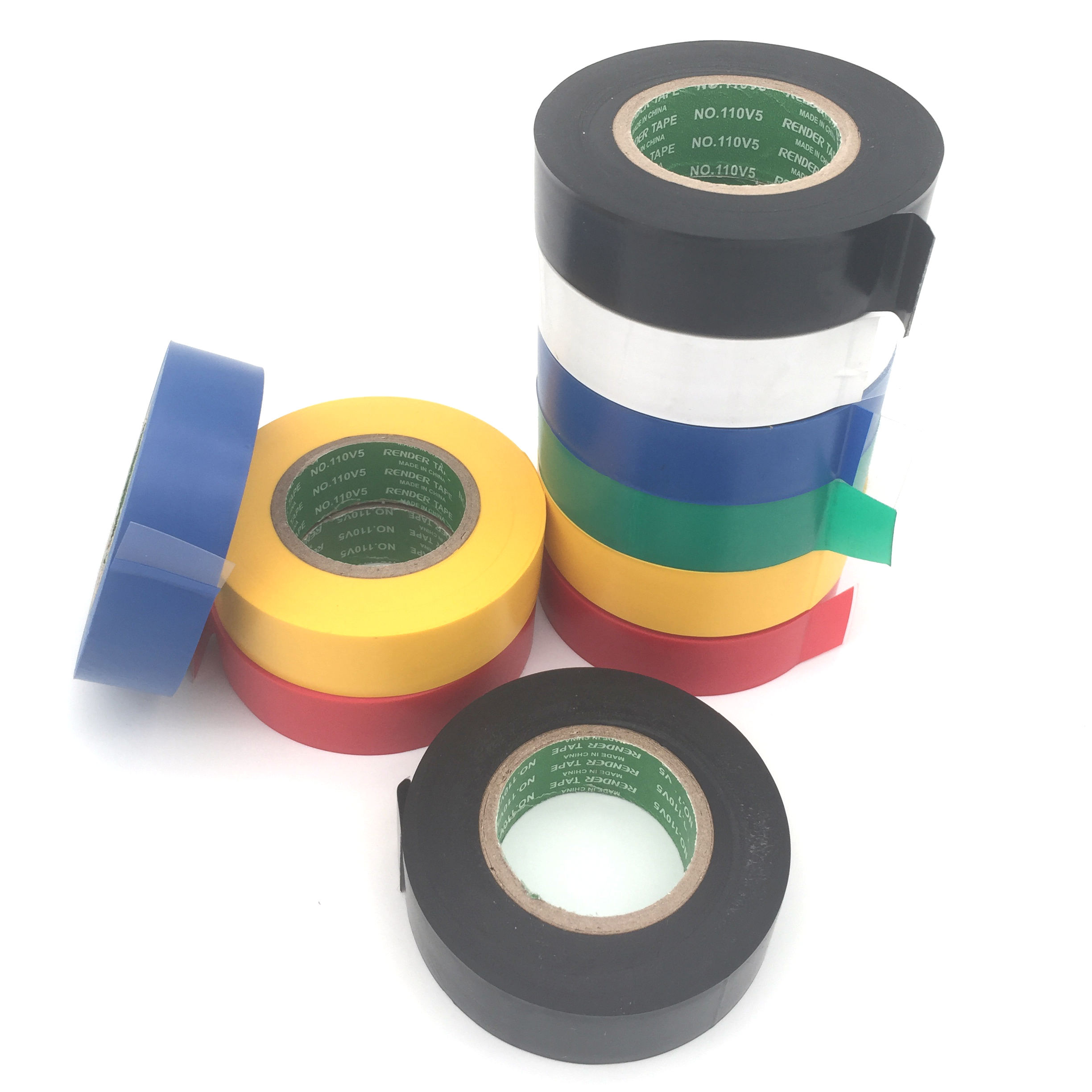 18mmx27m PVC Electrical Tape Electrical Insulation Adhesive Tape Waterproof Repair Tape For Cable Wiring Loom Harness Tape