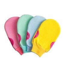 1 sztuka moda krótka piłka do kąpieli wanny kąpielowe fajne piłka ręcznik Scrubber czyszczenie ciała rękawica prysznic gąbka do mycia produktu