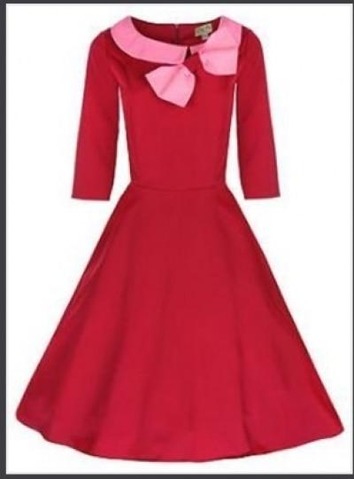 free shipping 50er Jahre Rockabilly Kleid Tanzkleid Pin Up Petticoat ...