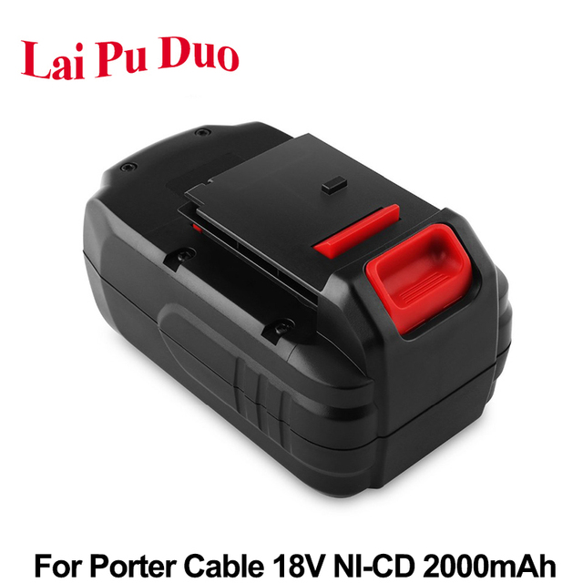 2 0ah 18v Ni Cd Replacement Power Tool Battery For Porter Cable