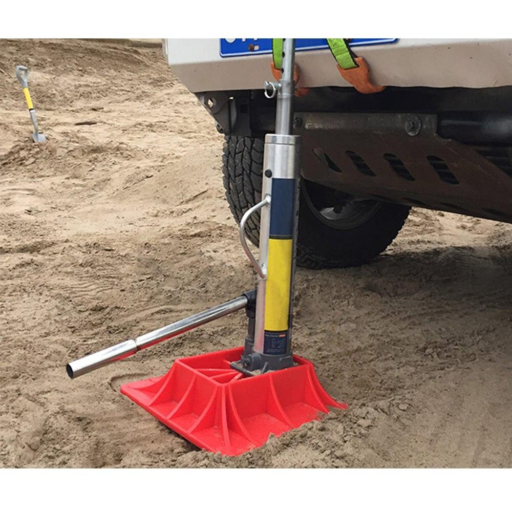 Off-Road Base for Hi Lift Farm Jack Surface PP Pad to Alleviate Jack Hoisting Sinkage