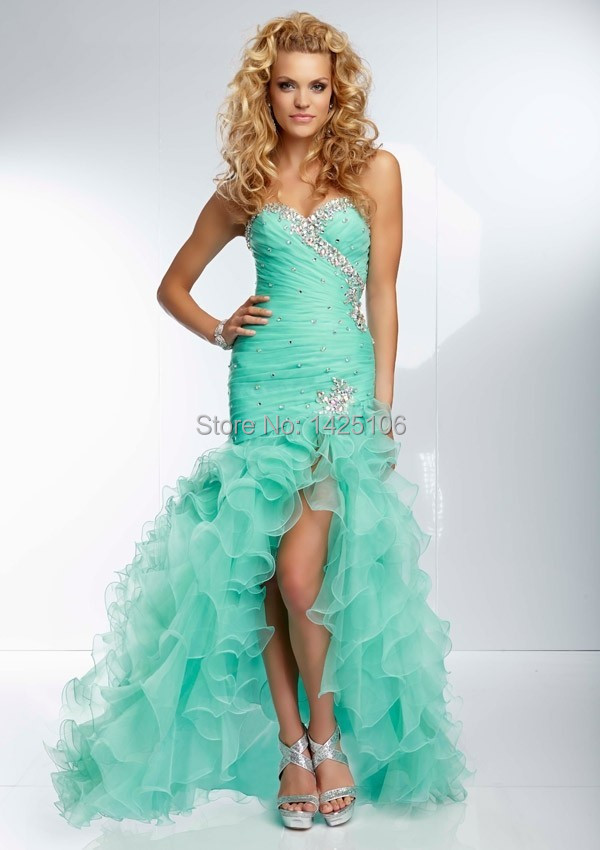 Popular Coral Mermaid Prom Dress-Buy Cheap Coral Mermaid Prom ...