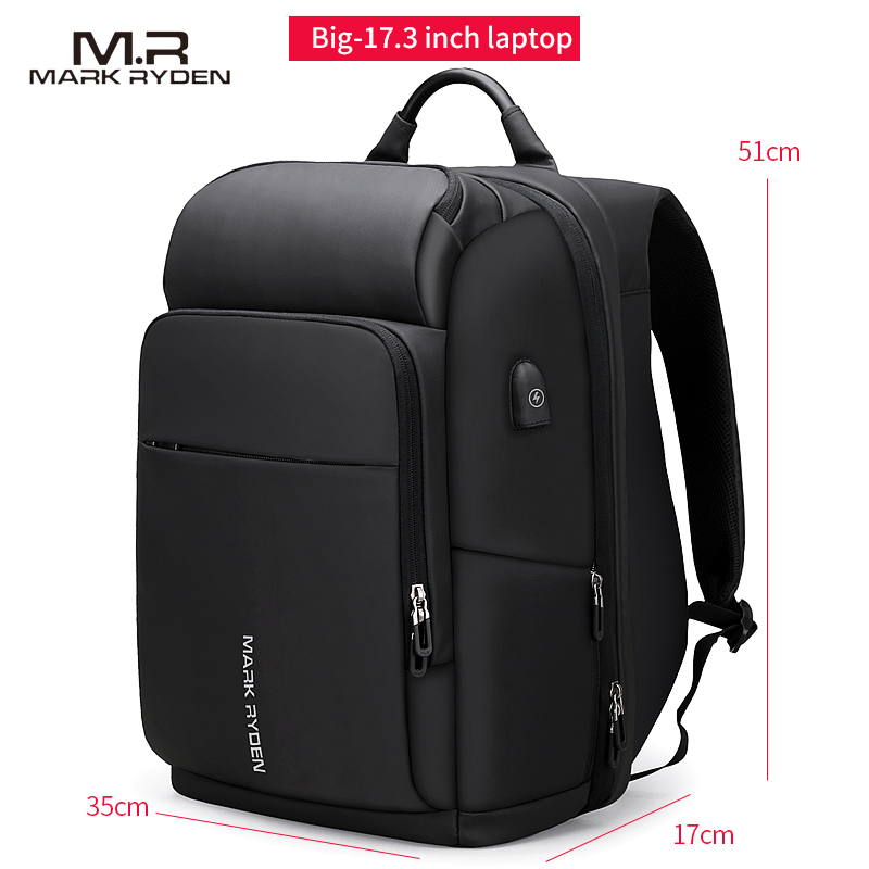 High Quality Genuine Leather Large Backpack Men Laptop Bag Daypack Black / Coffee Casual Business Leather Backpack Men #MD J7335 - 6