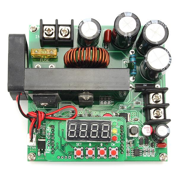 B900W BST-900 NC DC módulo impulso ajustável tensão constante fonte de alimentação atual Amperímetro 120V15A carregador Frete Grátis
