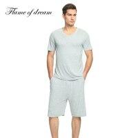Pyjama voor me heren pajam Modal Pyjama modal nachtkleding mannen nachtkleding pyjama set heren pyjama sets korte