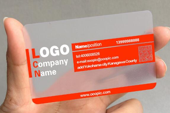 Customized luxury business card professional business printing