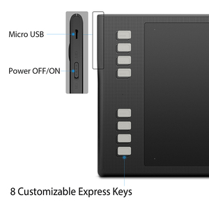Image 3 - HUION INSPIROY Q11K V2 אלחוטי Digita עט Tablet סוללה משלוח מיועד ציור גרפי ציור Tablet עם 8192 רמות