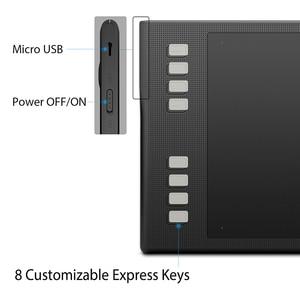 Image 3 - HUION INSPIROY Q11K V2 Беспроводной цифровой пера планшета Батарея Бесплатная предназначен для Рисование графический планшет для рисования Tablet с 8192 уровней